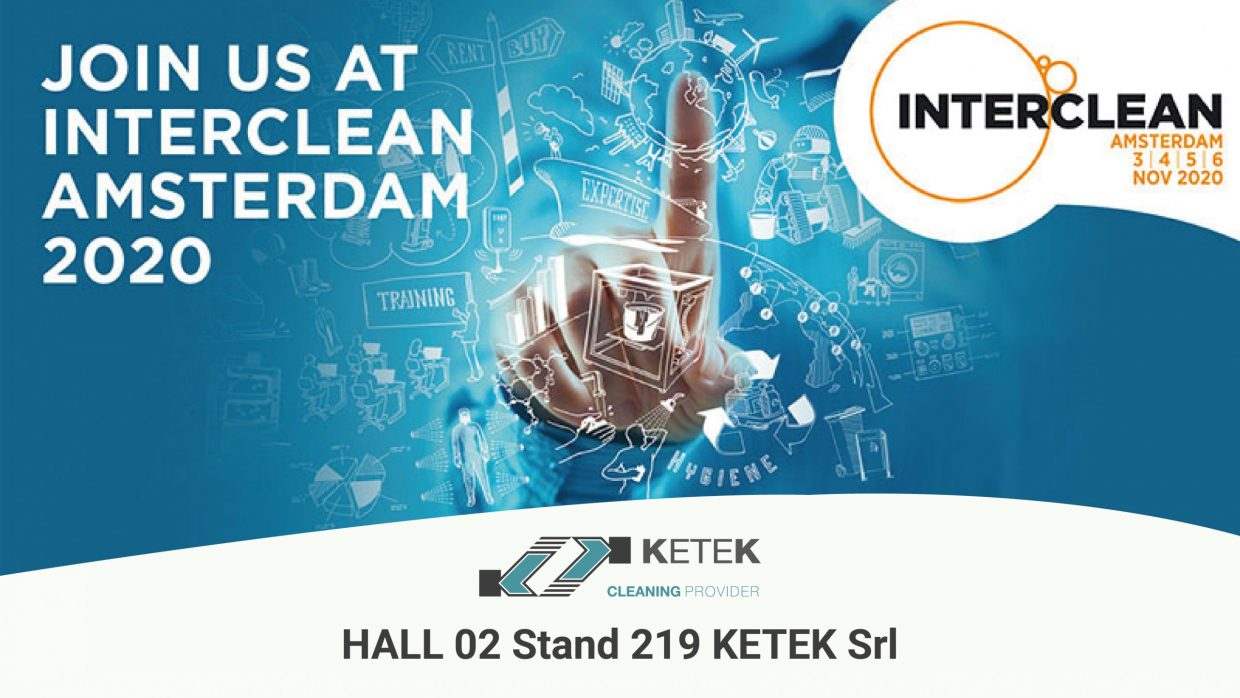 Ketek parteciperà all'Interclean Amsterdam 2020!