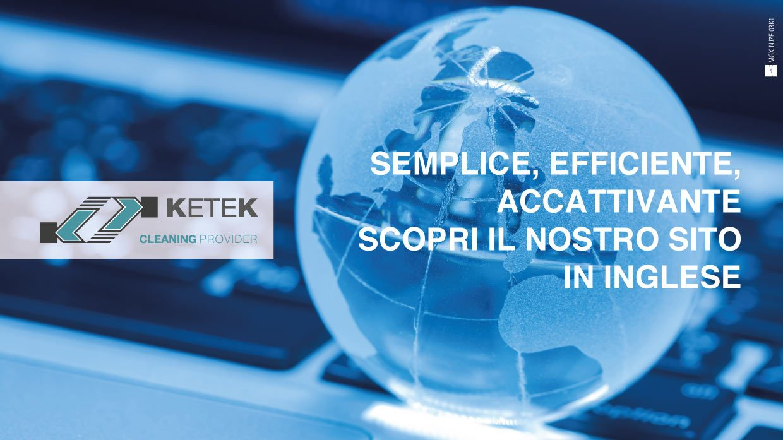 Ketek presenta: il nuovo sito in lingua inglese!